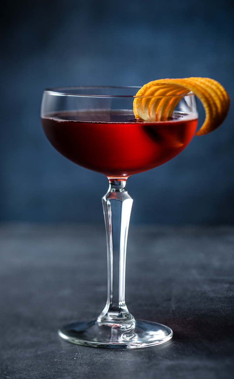 Burnside Boulevardier cocktail